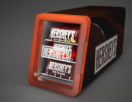 Hershey's display