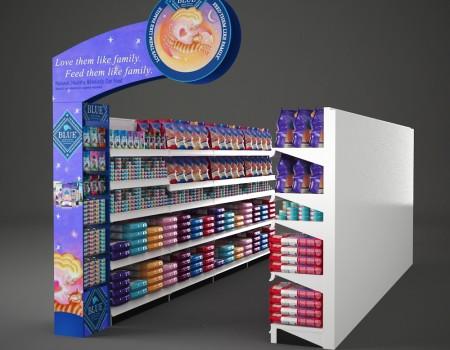 Product aisle design