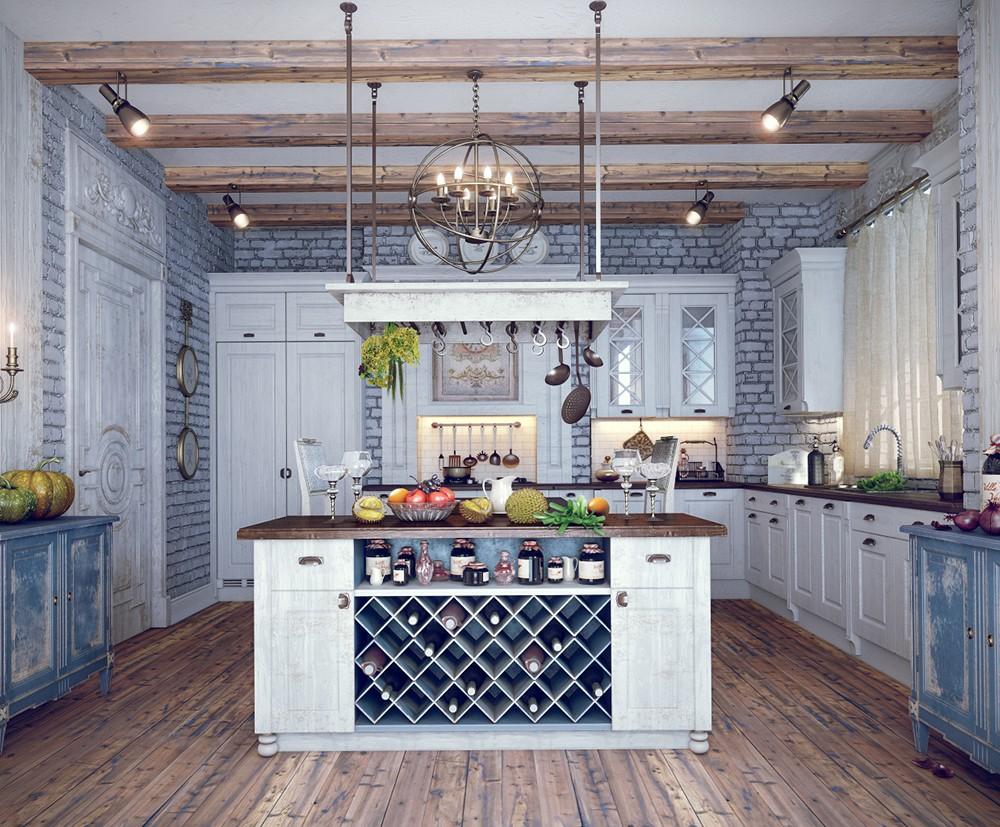 Country Style Kitchens Country Style Kitchen Interior White Rook Design