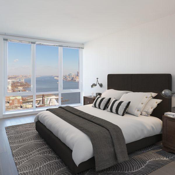 3ds Max Render of Urban Industrial bedroom
