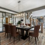 Virtual staging of dinning room
